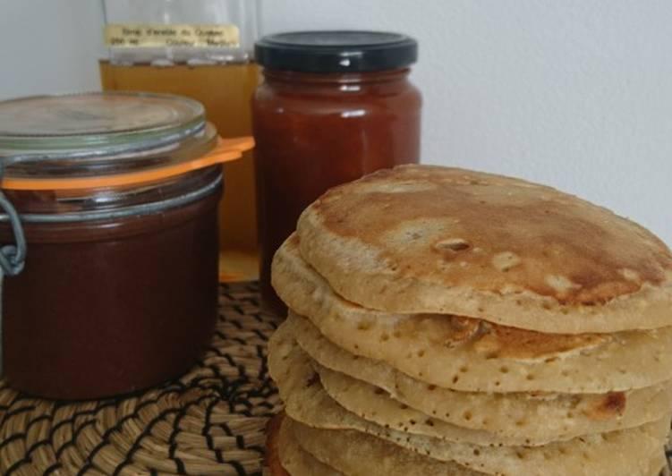 Les Pancakes healthy d'Audrey