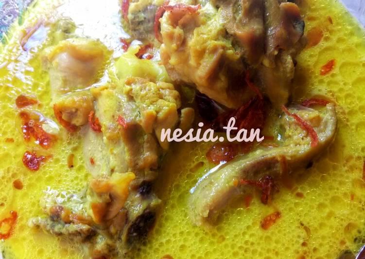 3. Opor Ayam Susu