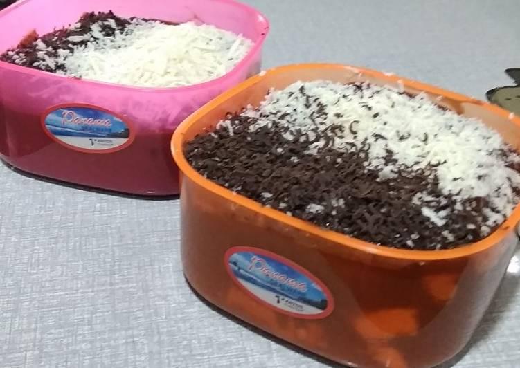 Resep Setup roti tawar cokke (coklat keju) irit anti gagal
