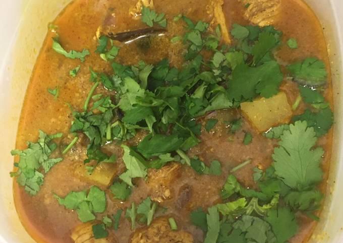 Indian Chicken Curry  #mycookbook
