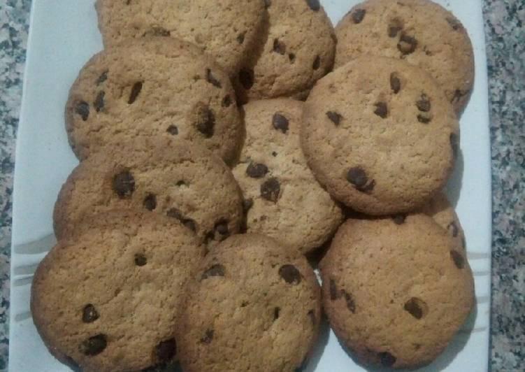 Le moyen le plus simple de Cuire Délicieuse Cookies aux pépites de chocolat