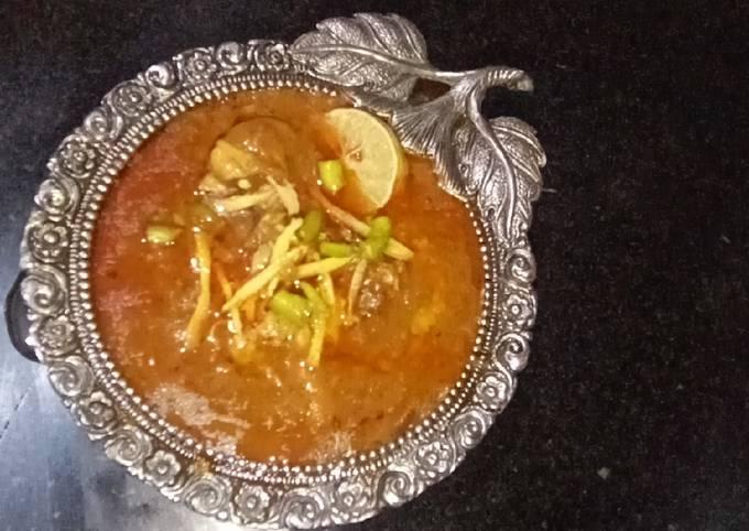Chicken nihari recipe