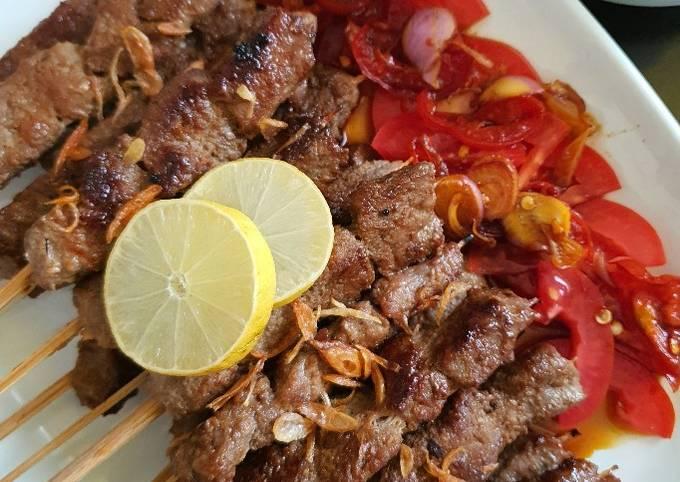 Sate Maranggi a.k.a Maranggi Beef Satay