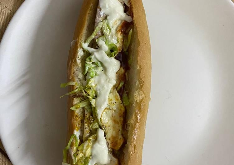 Step-by-Step Guide to Make Award-winning Stuffed veg hot dog