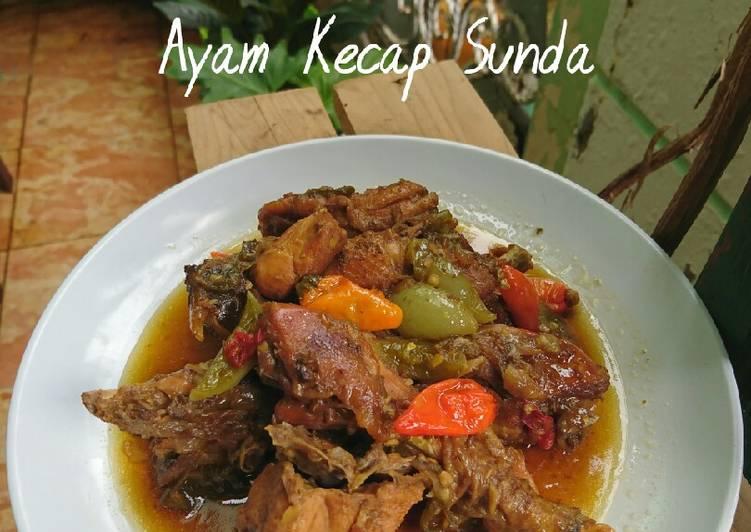 Resep 395. Ayam Kecap Sunda