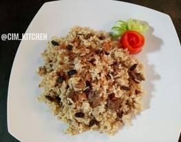 #festivalresepAsia Nasi kebuli(#timur tengah) Daging Kambing