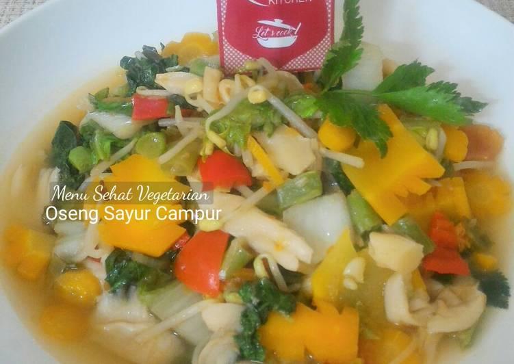 Oseng Sayur Campur (Menu Sehat Vegetarian)
