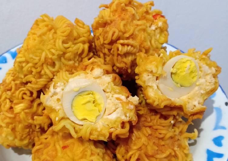 Tahu kribo isi telur puyuh