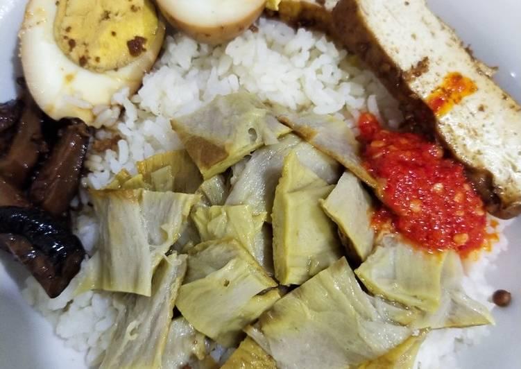 Nasi Hainam / Nasi Ayam (Vegetarian) Ricecooker