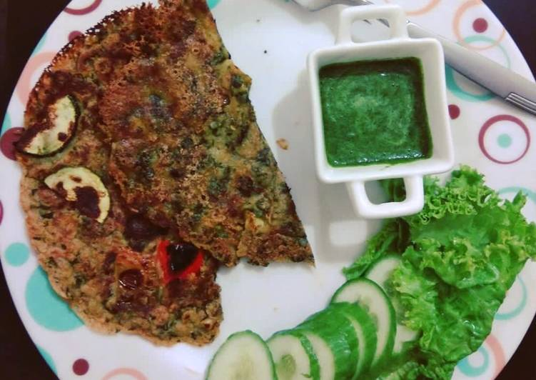 New Secret Oats and Buckwheat Cheela (Savoury Pancakes) Free Download