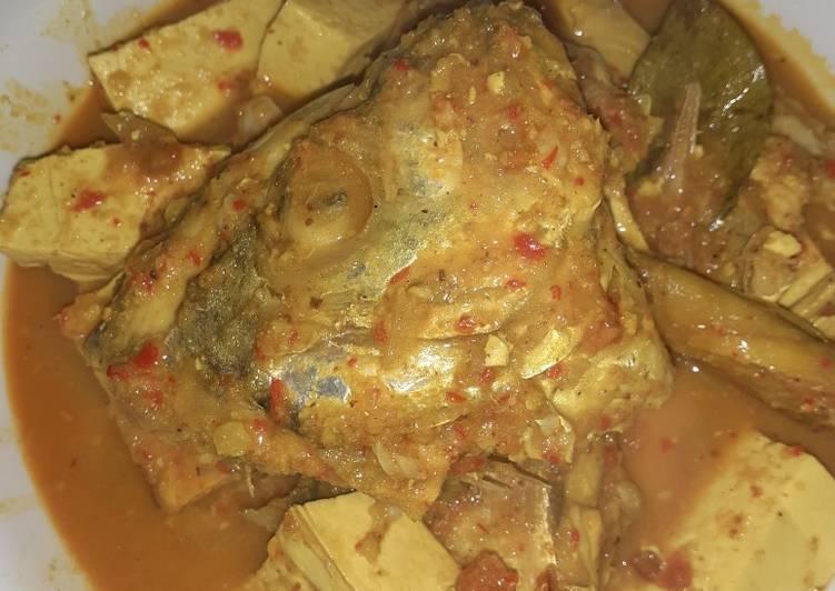 Gulai ikan kuew tanpa santan