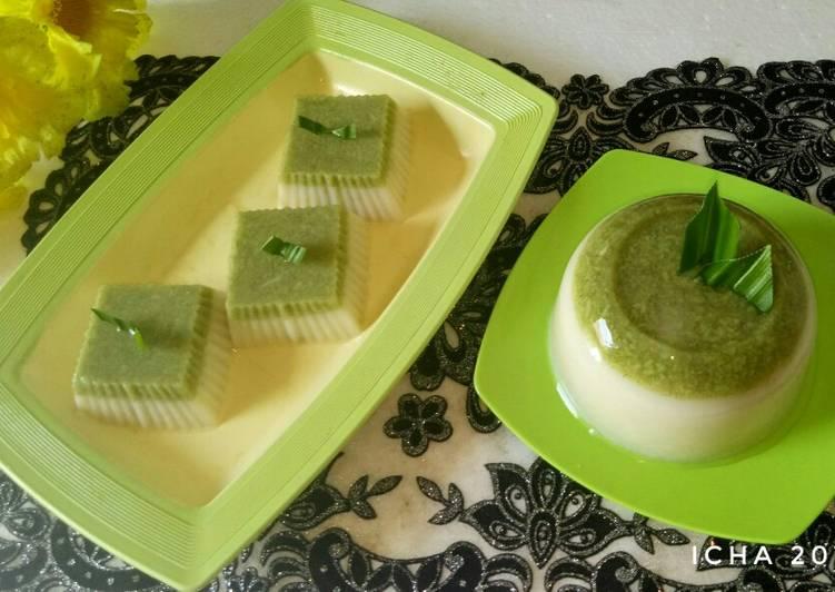 Puding Tape susu