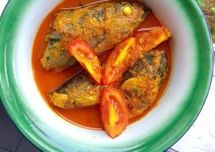 Asem Pedes Ikan Tongkol