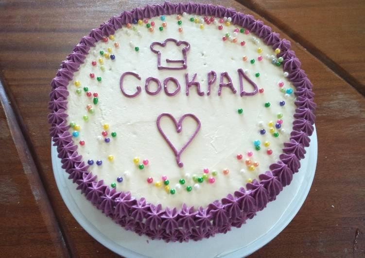 Cookpad Vanila Sponge Cake