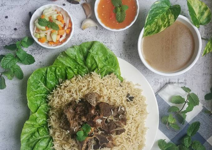 Nasi Minyak Arab Warisan Bonda