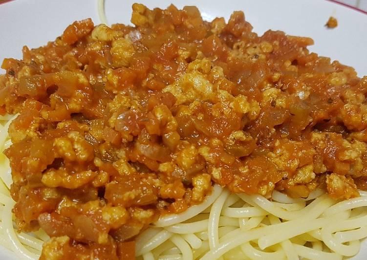 Salsa alla Bolognese Vegana
