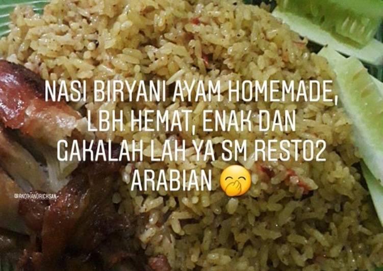 Cara Gampang Membuat Nasi biryani ayam rice cooker yang Bisa Manjain Lidah