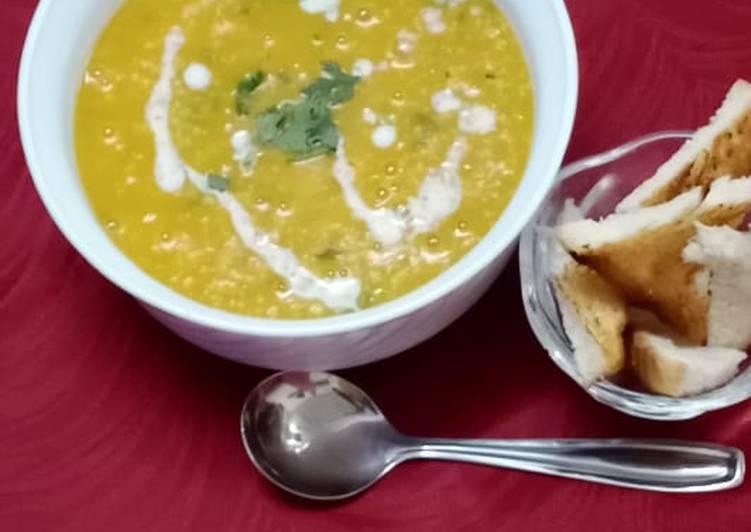 Pumpkin oats soup