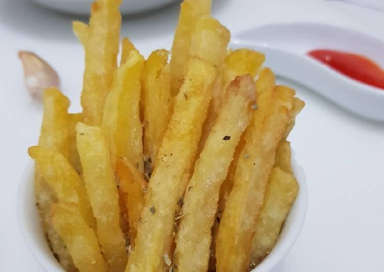 Kentang Goreng (French Fries) Renyah ala KFC