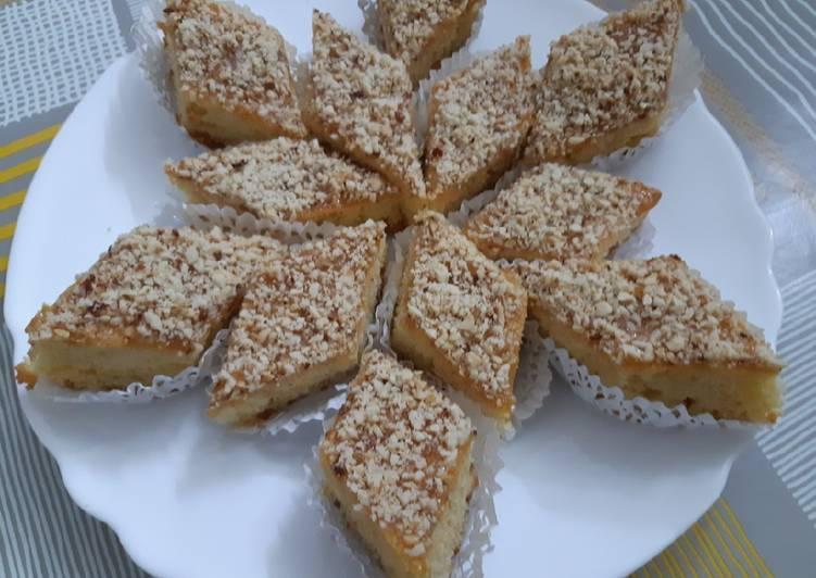 Recette Savoureux Gâteau sec