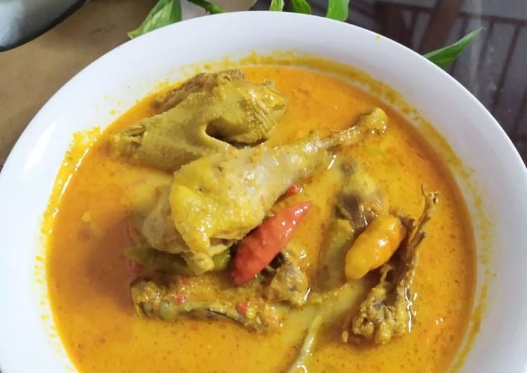 Ayam Lodho (tanpa dibakar)