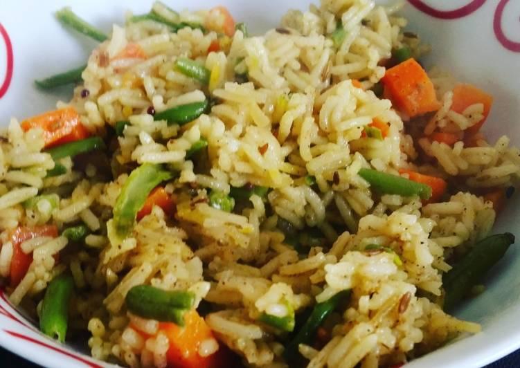 recette Riz Pulao à l'Indienne délicieux