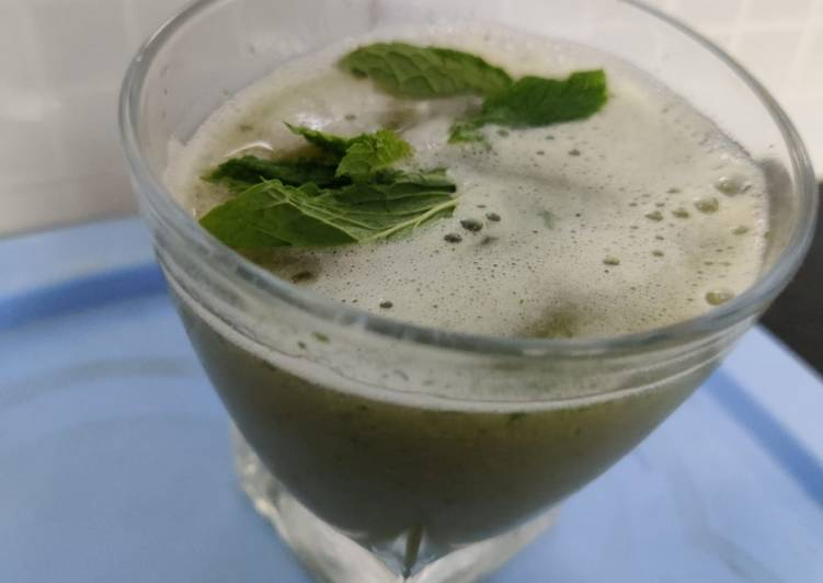Easiest Way to Make Most Popular Grape mint juice