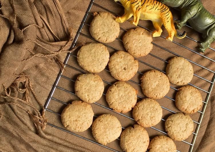 🍪Oat Cinnamon Cookies (no Baking soda/powder)🍪