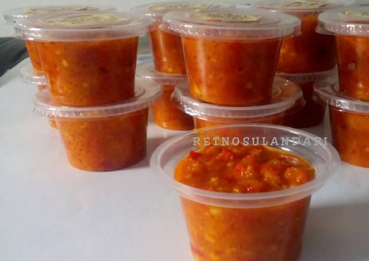 Sambel tomat matang (u/ stok)
