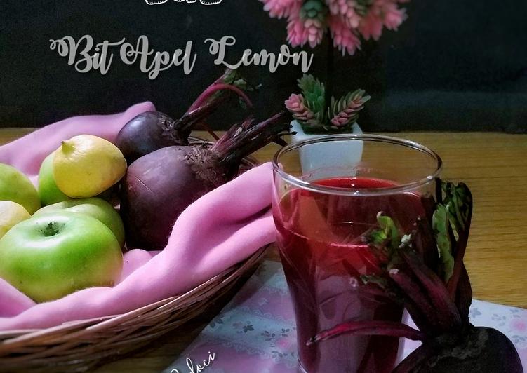 Jus Bit Apel Lemon (herbal untuk kanker)