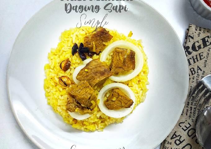 Nasi Mandhi Daging Sapi Simple - projectfootsteps.org