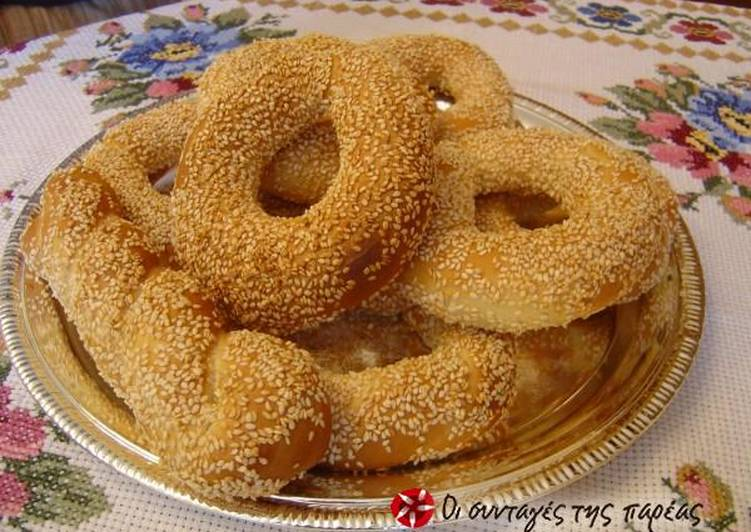 How to Make Super Quick Homemade Fluffy and quick koulouria from Thesaloniki