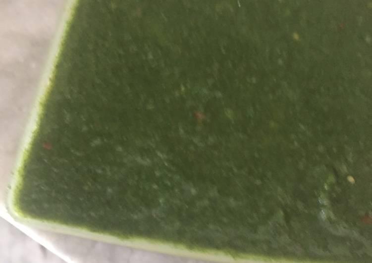 Grandmother's Dinner Easy Refreshing Mint coriander chutney