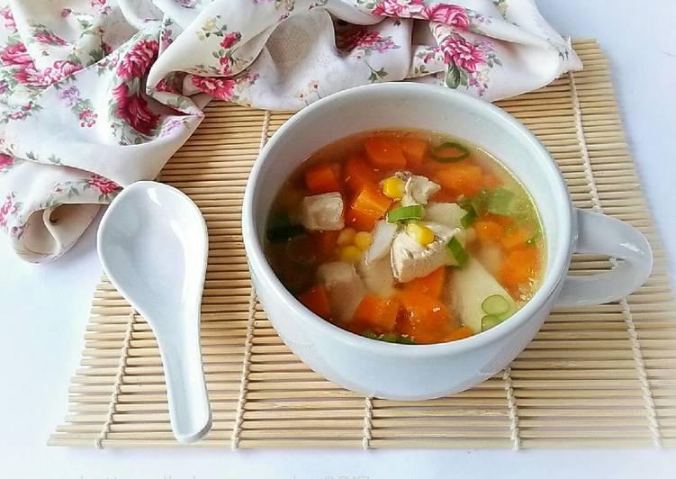 Sop Ayam Jagung
