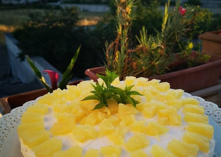 Ricetta Cheesecake mimosa