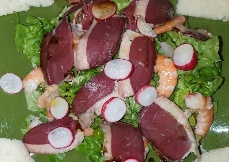 Comment Préparer Des Salade terre mer