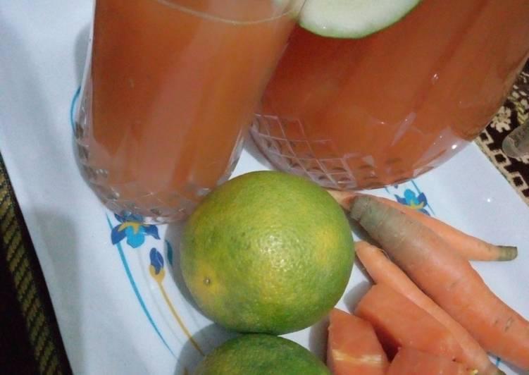 Caro-Papaya juice