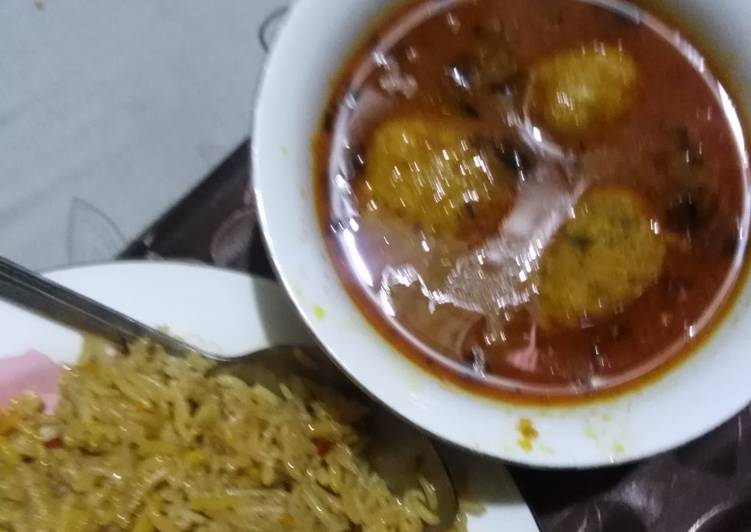 Kofta curry Finding Healthy Fast Food
