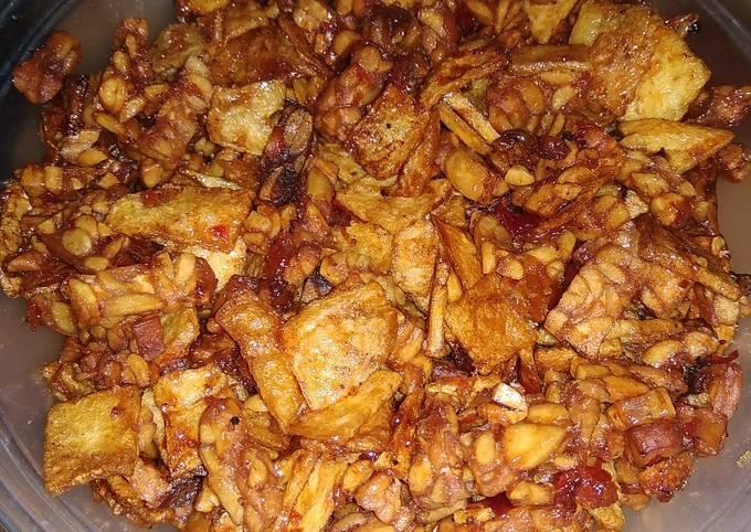 sambel goreng kering tempe kentang - resepenakbgt.com