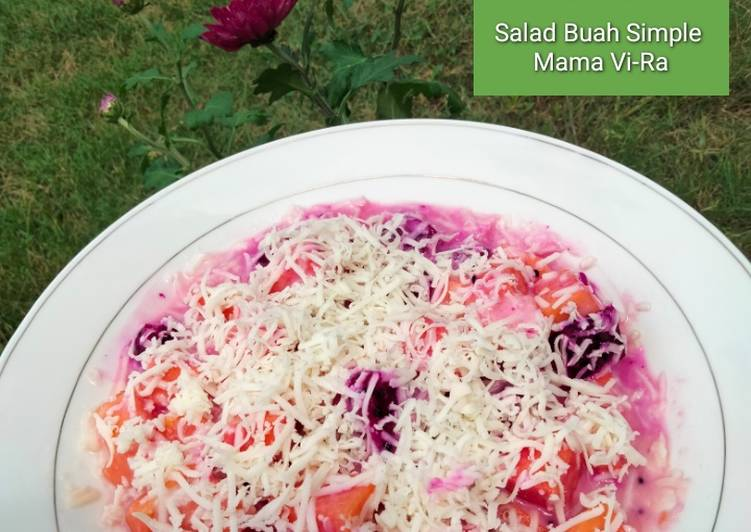 Panduan Membuat Salad Buah Simple Enak Banget