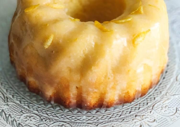 Recette Délicieuse Gâteau moelleux au citron