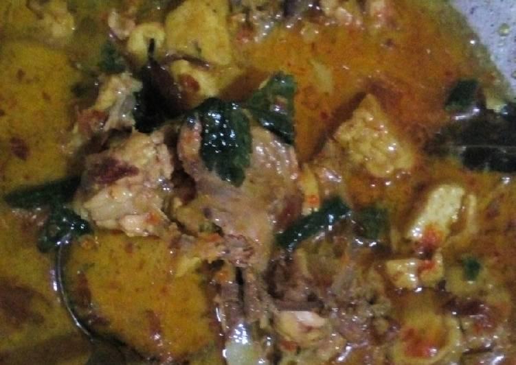 Resep Gulai Tetelan Ayam Oleh Reny Luciaa Cookpad