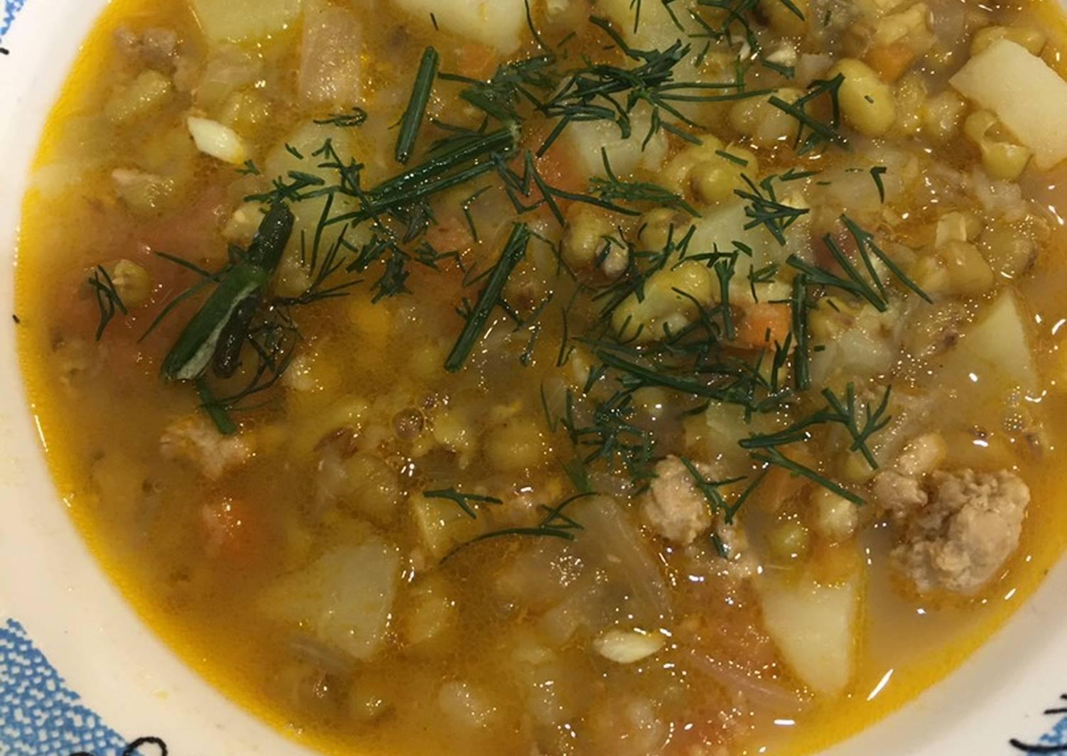 Суп из маша рецепт с фото