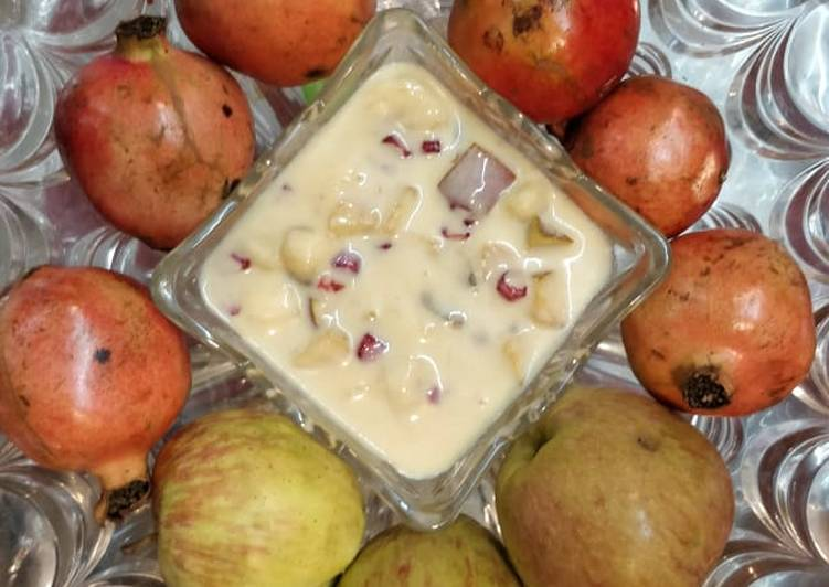 Simple Way to Prepare Perfect Fruit Custard