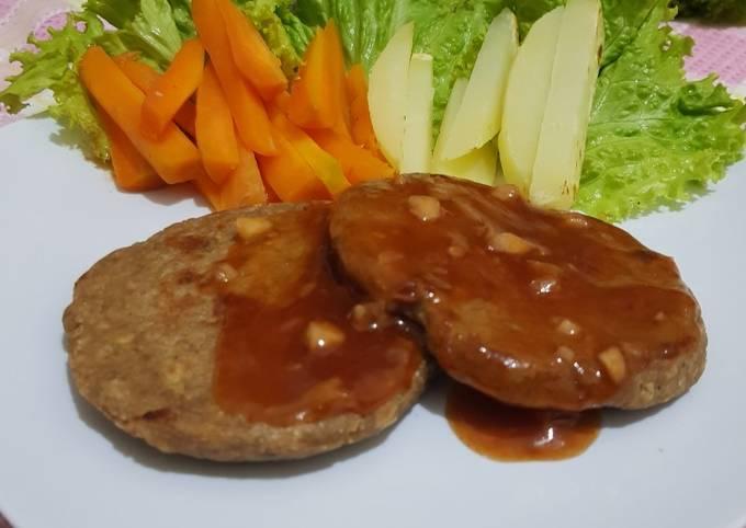 Steak Tempe ~ healthy food