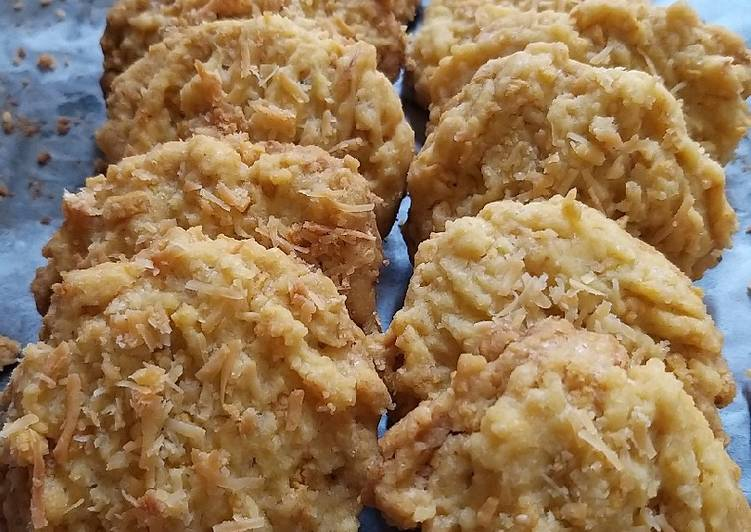 Corn flakes keju cookies