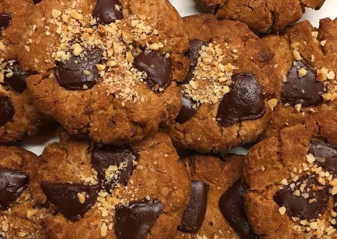 Cookies vegan choco noisette