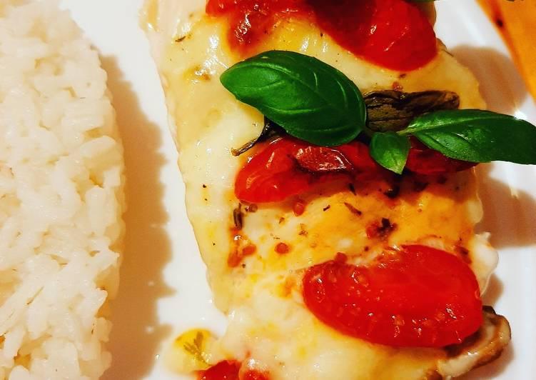 Filety z mozarellą