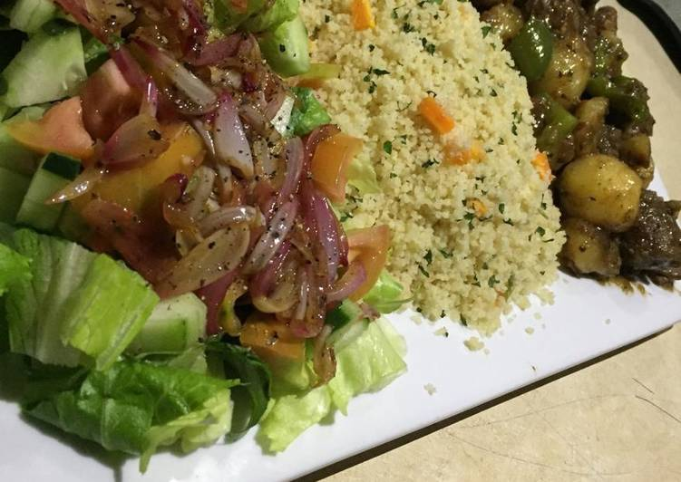 Stir fry couscous