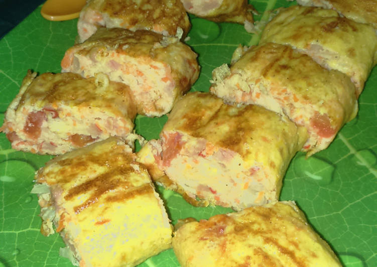 Resep Tamagoyaki kilaaat⚡😻😻 (telur dadar gulung ala ala  jepang) Favorit